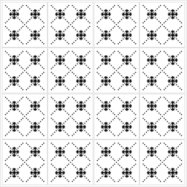 azulejos 155 black