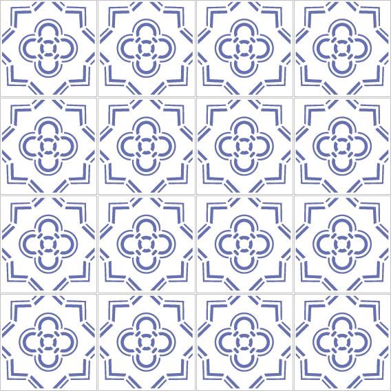 azulejos 135 6670B4