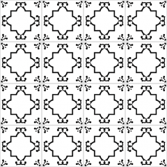 azulejos 142 black