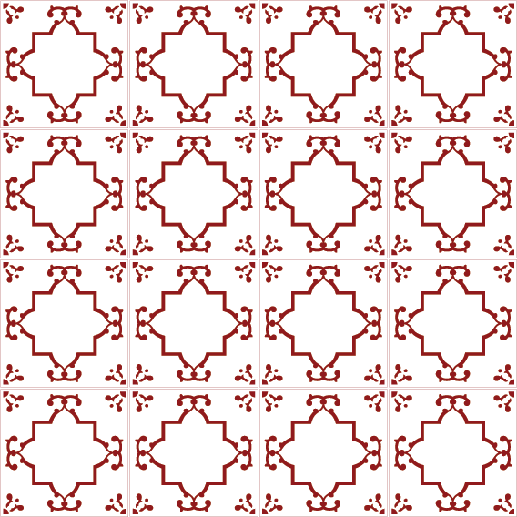 azulejos 142 8F191C