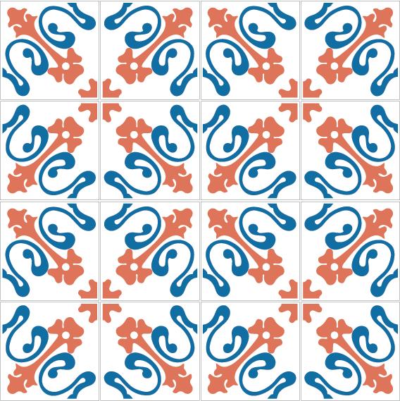 azulejos 132 DC7458