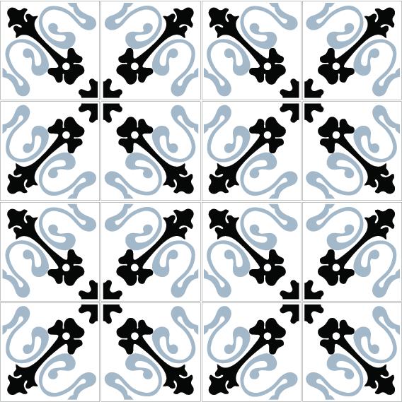 azulejos 132 blue