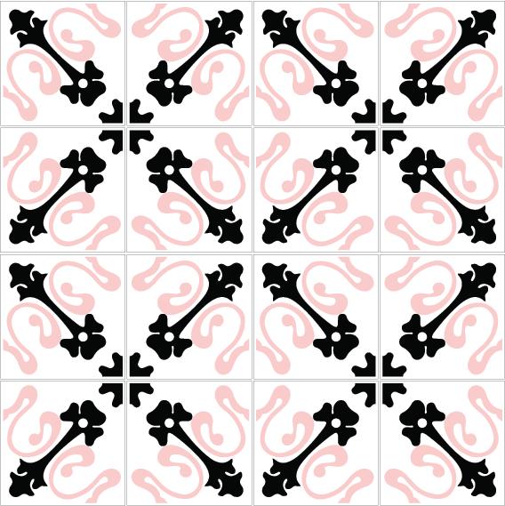 azulejos 132 pink 2