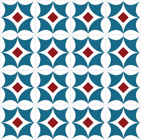 azulejos 129 8E181B