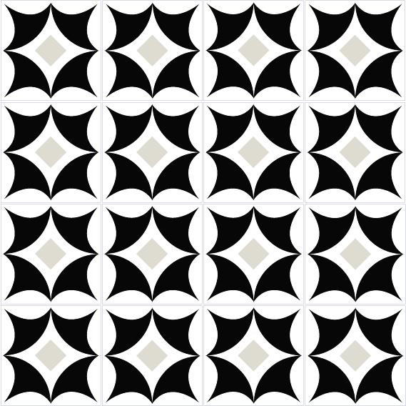 azulejos 129 black 2