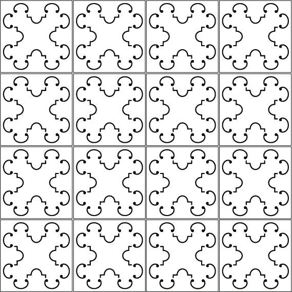azulejos 162 black