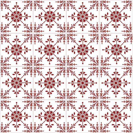 azulejos 008 8F191C