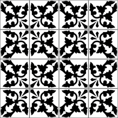 azulejos 009 multi black
