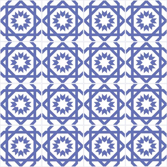 azulejos 013 6670B4
