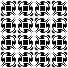 azulejos 042 multi black