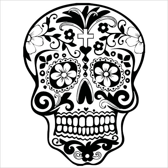czaszka black