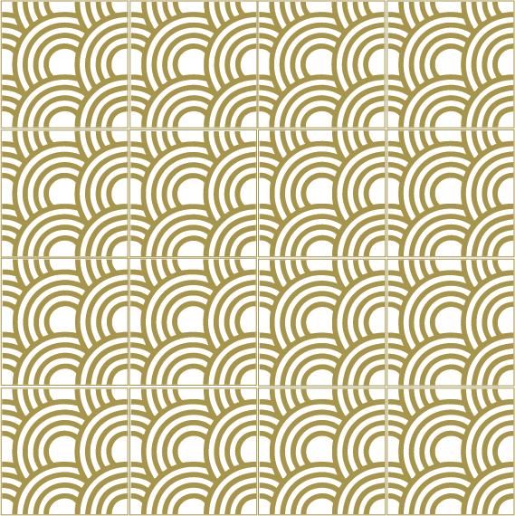 japońska fala seigaiha multi A5934B