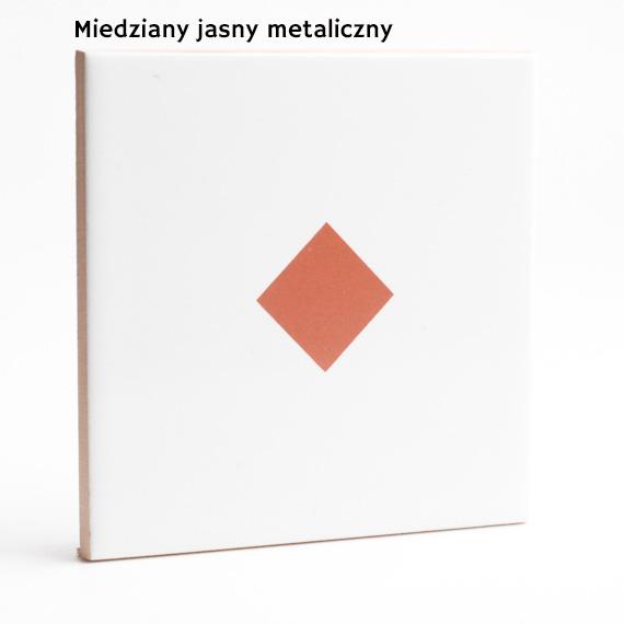 16.. jasny miedziany metalik JumaTile kolory płytek