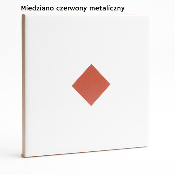 17.. rdzawy miedziany metalik JumaTile kolory płytek