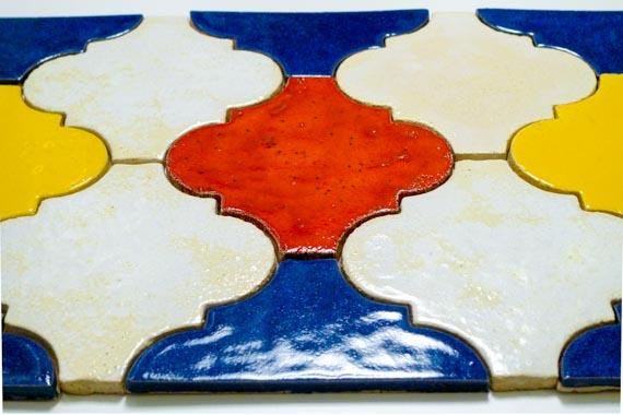 JumaTile płytki arabeska kolorowe-2