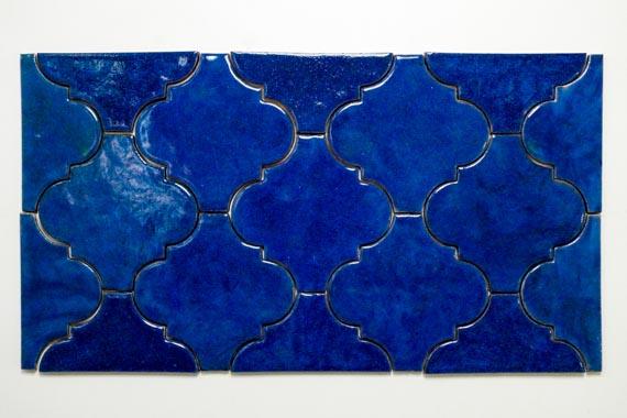 JumaTile płytki arabeska niebieska